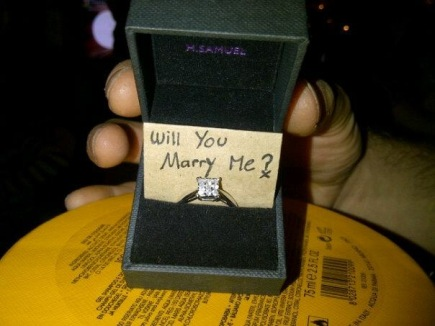 How he asked me to marry him